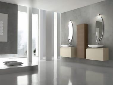 Sistema bagno componibile ESCAPE - COMPOSIZIONE 17