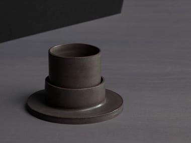 Porcelain stoneware espresso cup ROSA | Espresso cup