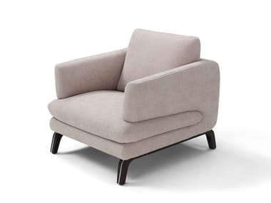 Fabric armchair with armrests ESPRIT | Armchair