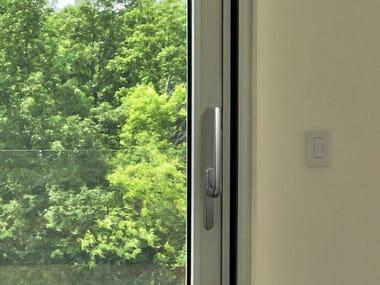 Window handle on back plate ESSENCE   Window handle