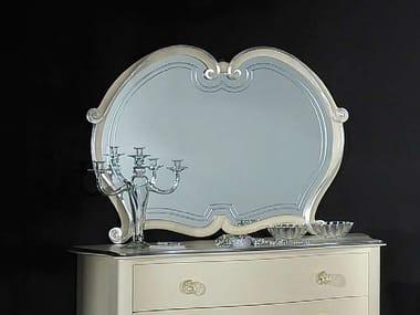 Wall-mounted framed mirror ESTER | Mirror