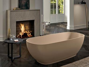 Vasca da bagno centro stanza ovale ETHOS F