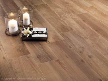 Pavimento in gres porcellanato effetto legno ETIC | Pavimento in gres porcellanato