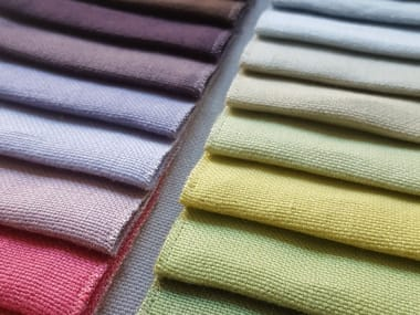 Solid-color washable linen fabric ETICO