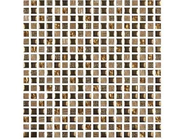 Mosaico in vetro ETNOCHIC | Bronzo-Avorio