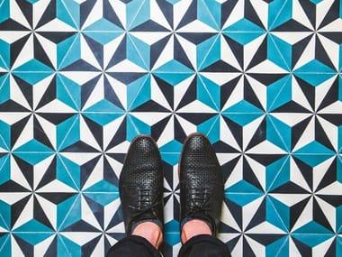 Cement wall/floor tiles ÉTOILE 1