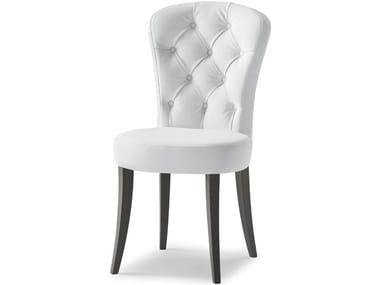 Tufted upholstered chair EUFORIA 00111K