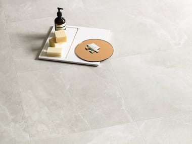 Porcelain stoneware wall/floor tiles EUREKA BIANCO