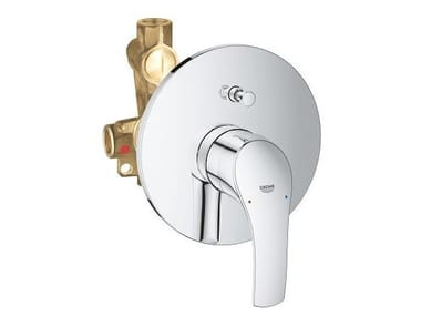 Single handle bathtub/shower mixer with diverter EUROSMART | Bathtub mixer