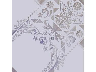 Indoor double-fired ceramic wall tiles EVE 1