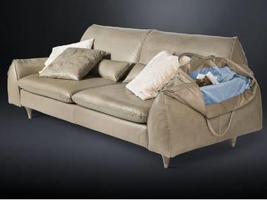 Leather sofa EVE BAG | Sofa