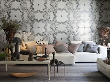 Indoor double-fired ceramic wall tiles EVE