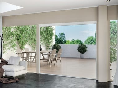 Motorized roller blind EVO ZIP