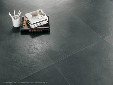 Pavimento in gres porcellanato effetto cemento EVOLVE | Pavimento in gres porcellanato