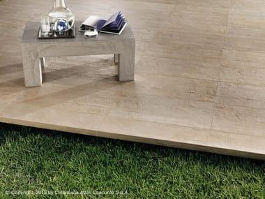 Pavimento per esterni in gres porcellanato effetto cemento EVOLVE | Pavimento per esterni in gres porcellanato