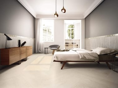 Porcelain stoneware wall/floor tiles with wood effect EVOOD