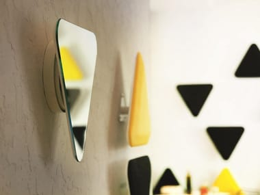 Mirrored glass wall decor item E.WALL | Wall decor item