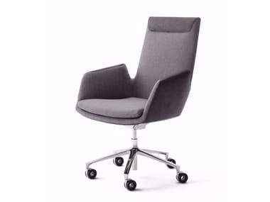 Height-adjustable swivel executive chair with casters CORDIA PLUS | Executive chair