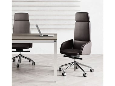 High-back executive chair with armrests LEAD | Executive chair