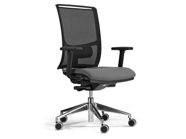 Swivel office chair with armrests with castors CROSS | Office chair