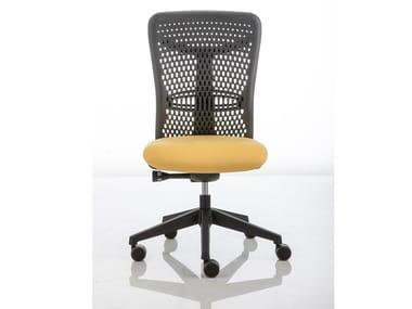 Sedia ufficio ad altezza regolabile con ruote SMARTBACK | Sedia ufficio con ruote