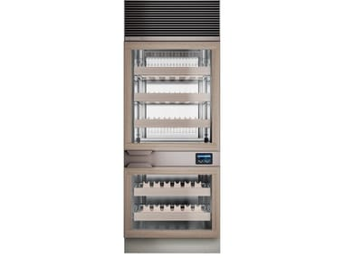 Wine cooler with glass door EXPO WINE 1T
