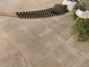 Porcelain stoneware wall/floor tiles with stone effect EXTREME BEIGE