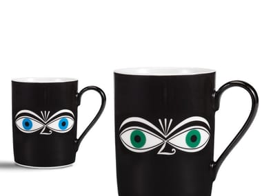 Porcelain espresso cup EYES MUG