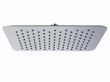Tête de douche à effet pluie de plafond en acier inoxydable avec système anti-calcaire PABLOLUX  - F1704