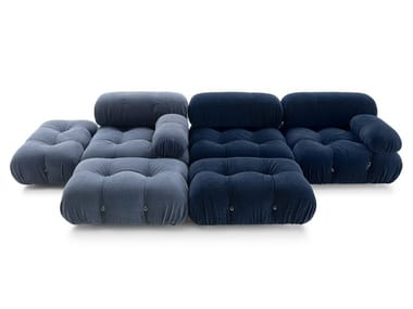 Tufted sectional modular fabric sofa CAMALEONDA | Fabric sofa