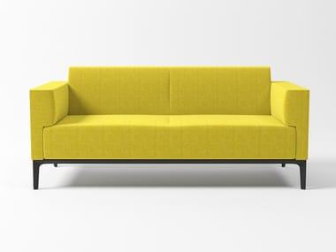 Sofá 2 lugares de tecido DADA CUBE | Sofá de tecido