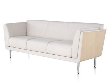 Sofá 3 plazas de tela GOETZ | Sofá de tela