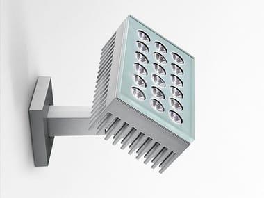 Proiettore per esterno a LED orientabile in alluminio FALANGE 18