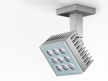 Proiettore per esterno a LED orientabile in alluminio FALANGE 9