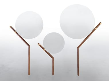 Wall-mounted round mirror FAMILY