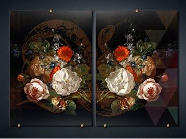 Print on glass FANCY BOUQUET 1
