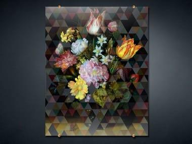 Print on glass FANCY BOUQUET 2