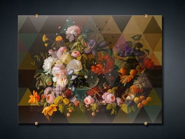 Print on glass FANCY BOUQUET 3
