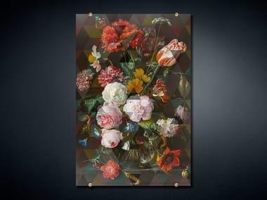 Print on glass FANCY BOUQUET 4