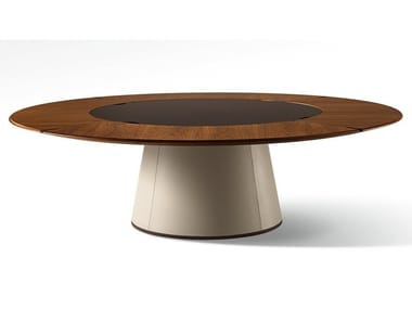 Round wooden table FANG | Round table