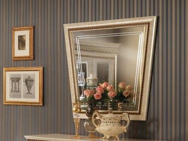 Framed wooden mirror FANTASIA | Wooden mirror