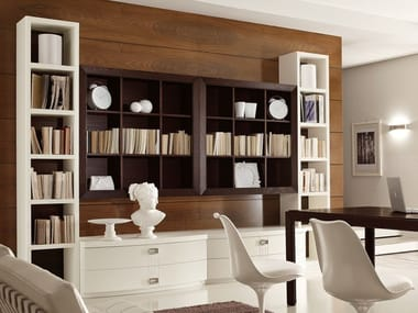 Sectional ash storage wall FASHION TIME   Composizione 2