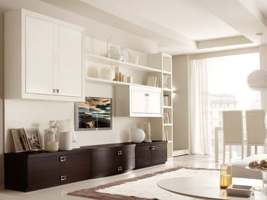 Sectional ash storage wall FASHION TIME   Composizione 3