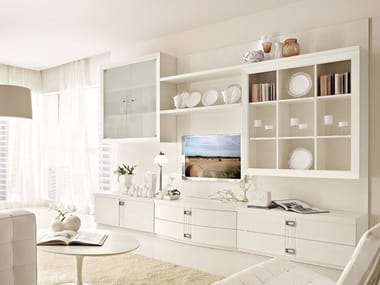 Sectional ash storage wall FASHION TIME   Composizione 5