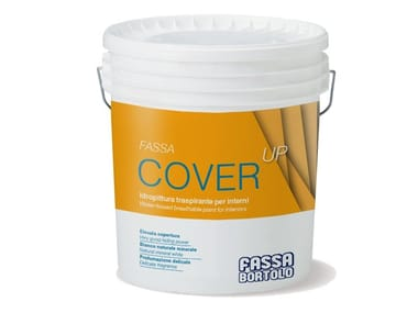 Breathable water-based paint FASSA COVER-UP