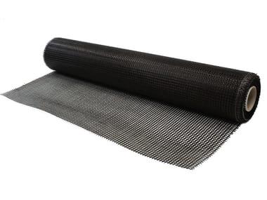 Rete alalcali-resistente in fibra di basalto e acciaio inox FASSANET BASALT&STEEL 200