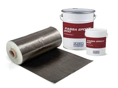 Carbon fibre reinforcing fabric FASSATEX CARBON SYSTEM