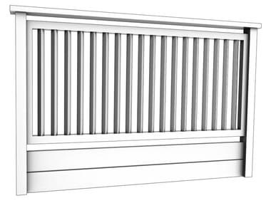 Aluminium balustrade FEBE