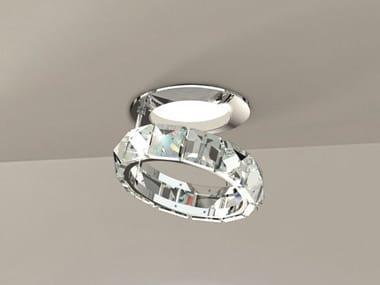 Ceiling spotlight with Swarovski crystals FEDI 9250   Spotlight