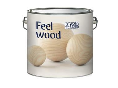 Fondo opaco per legno riempitivo e carteggiabile FEEL WOOD BASITE